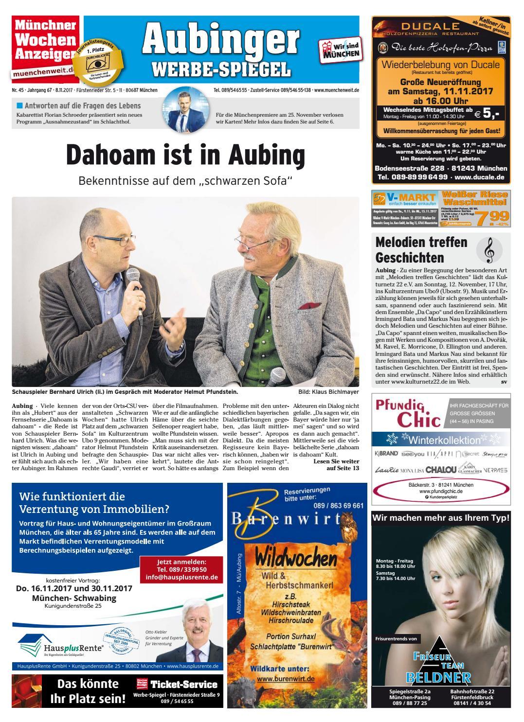 KW 45-2017 by Wochenanzeiger Medien GmbH - issuu