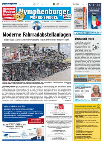 KW 45 2017 by Wochenanzeiger Me n GmbH issuu