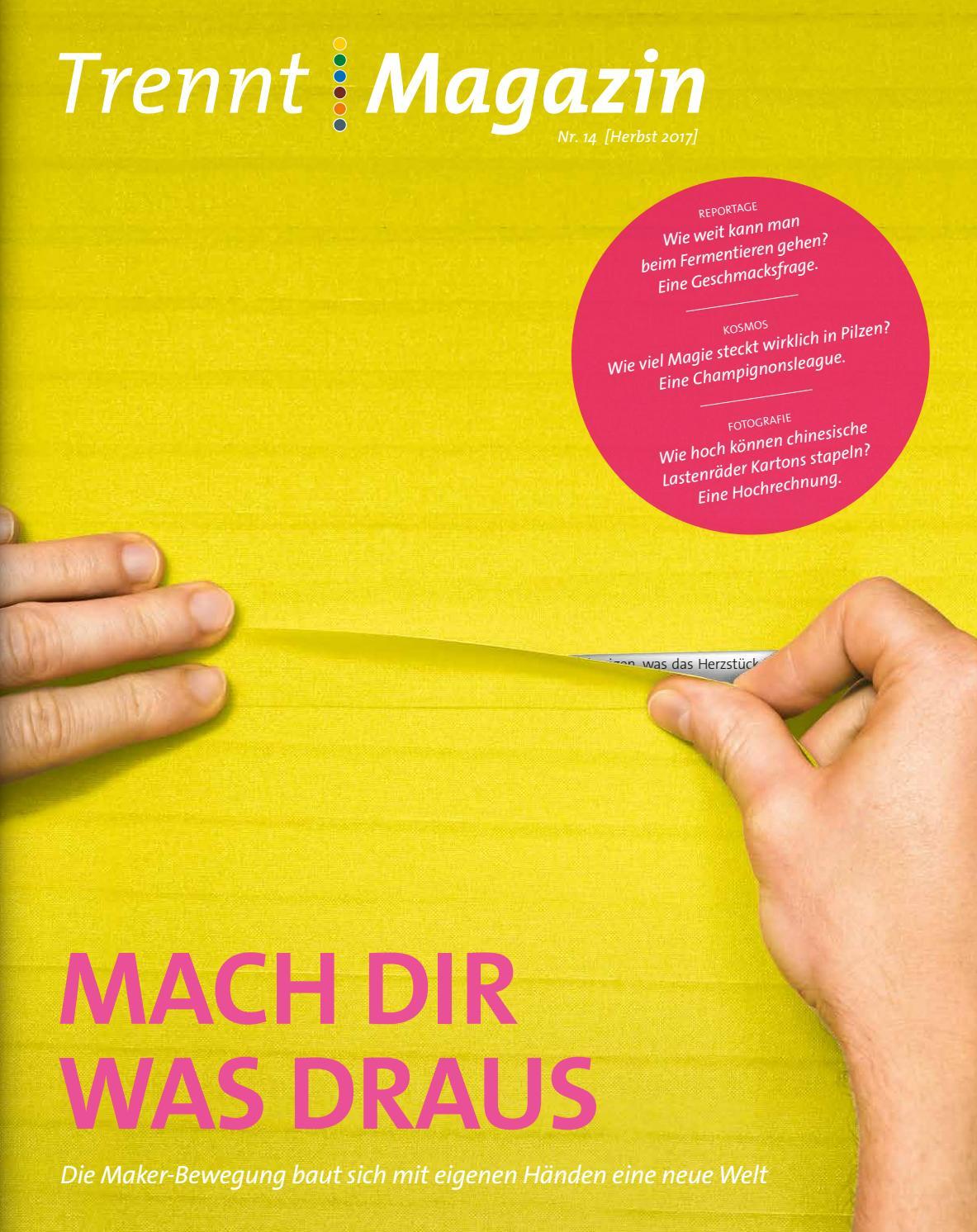 Trenntmagazin Trenntstadt Ausgabe Ausgabe 2017By Trenntmagazin Nr14herbst EDIY9H2W