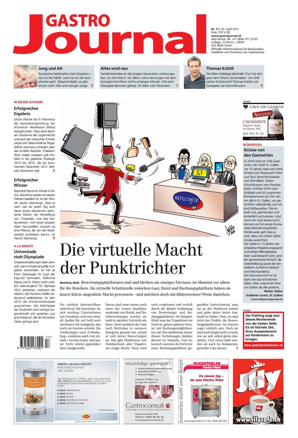 GastroJournal 17 2012 By Gastrojournal