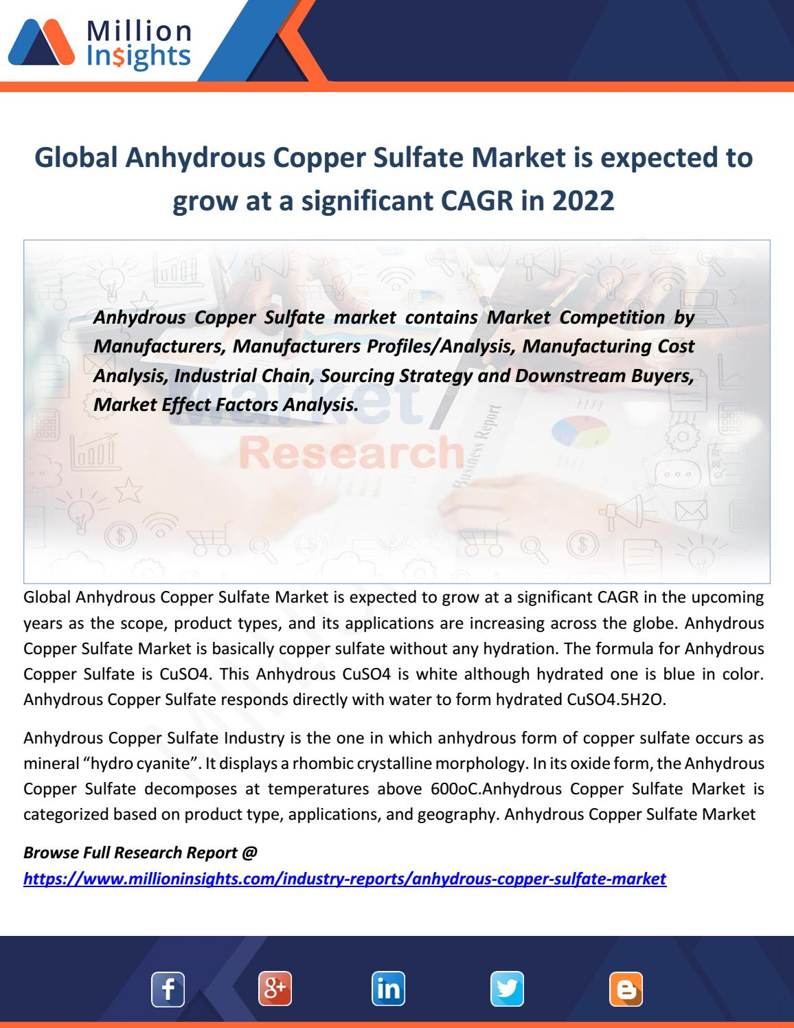 Global%20anhydrous%20copper%20sulfate%20market%20is%20expected ...