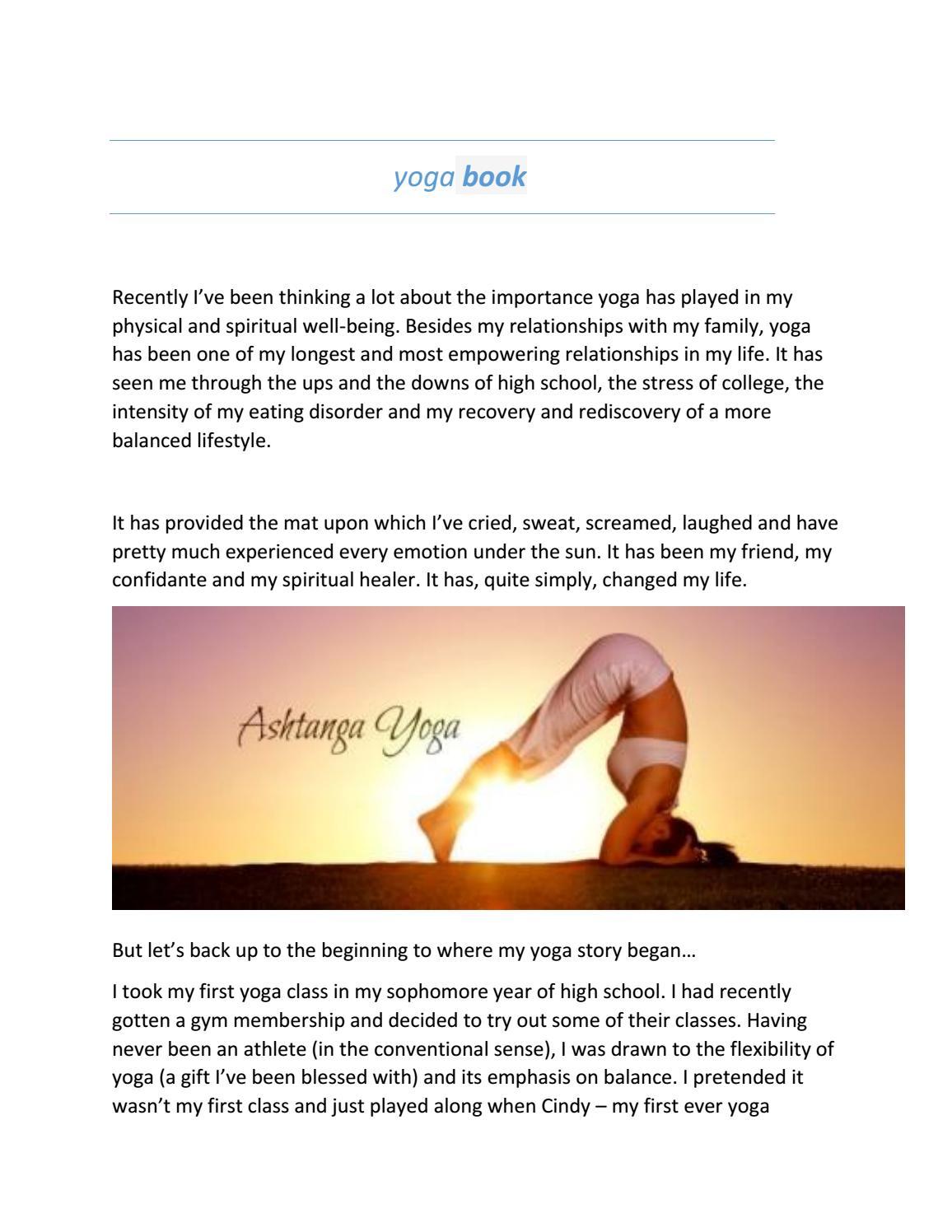 Benefits of Yoga Burn by Fitness - issuu