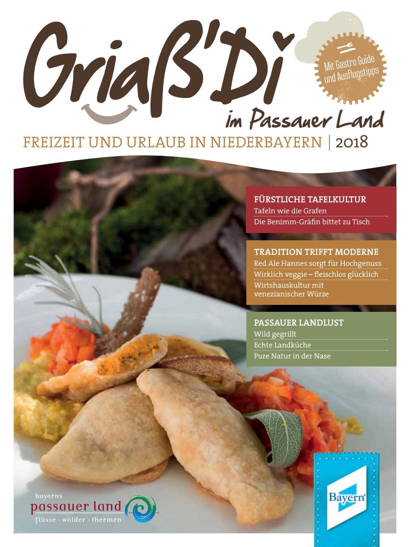 Passauer Land Magazin Griaß\' Di 2018 by TI Passauer Land - issuu