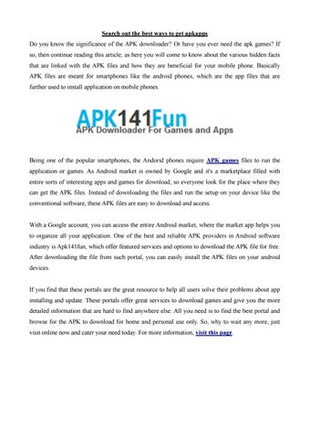 Apk141fun pdf by Emma5858 - issuu