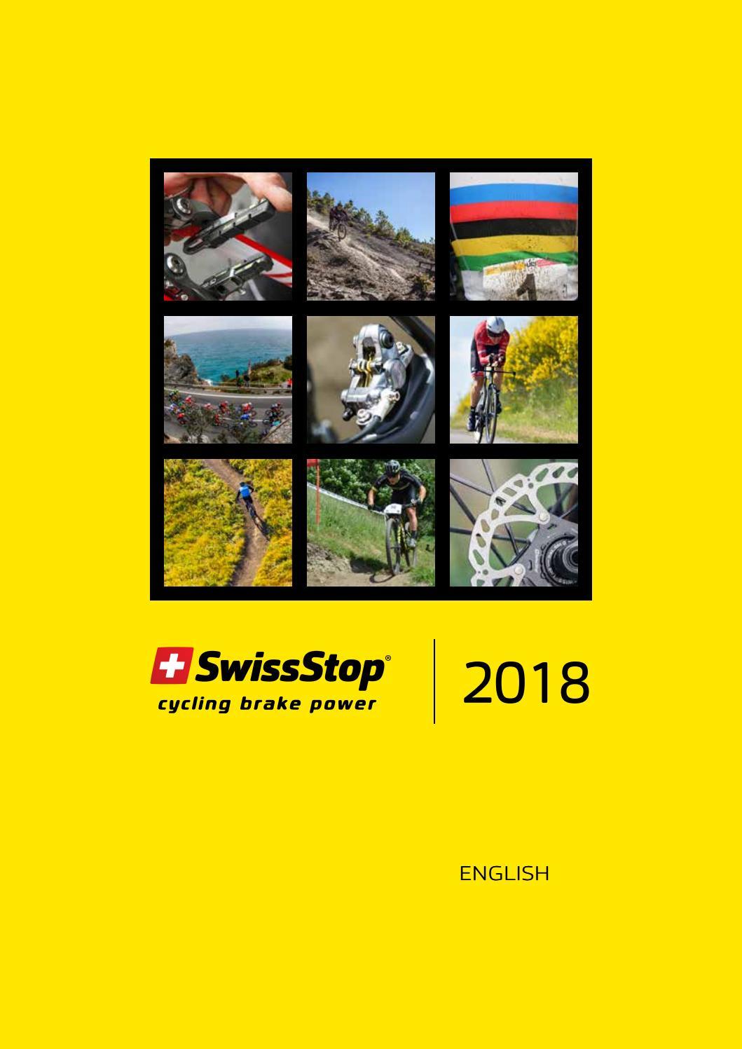 NEW SwissStop Disc 15 Organic Bicycle Brake Pads Shimano /& Quad Tektro TRP
