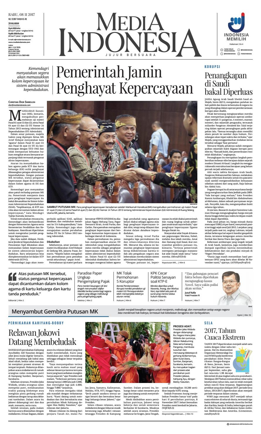 Media Indonesia 08 11 2017 08112017115553 By Oppah Issuu Produk Ukm Bumn Philips Essential 18w