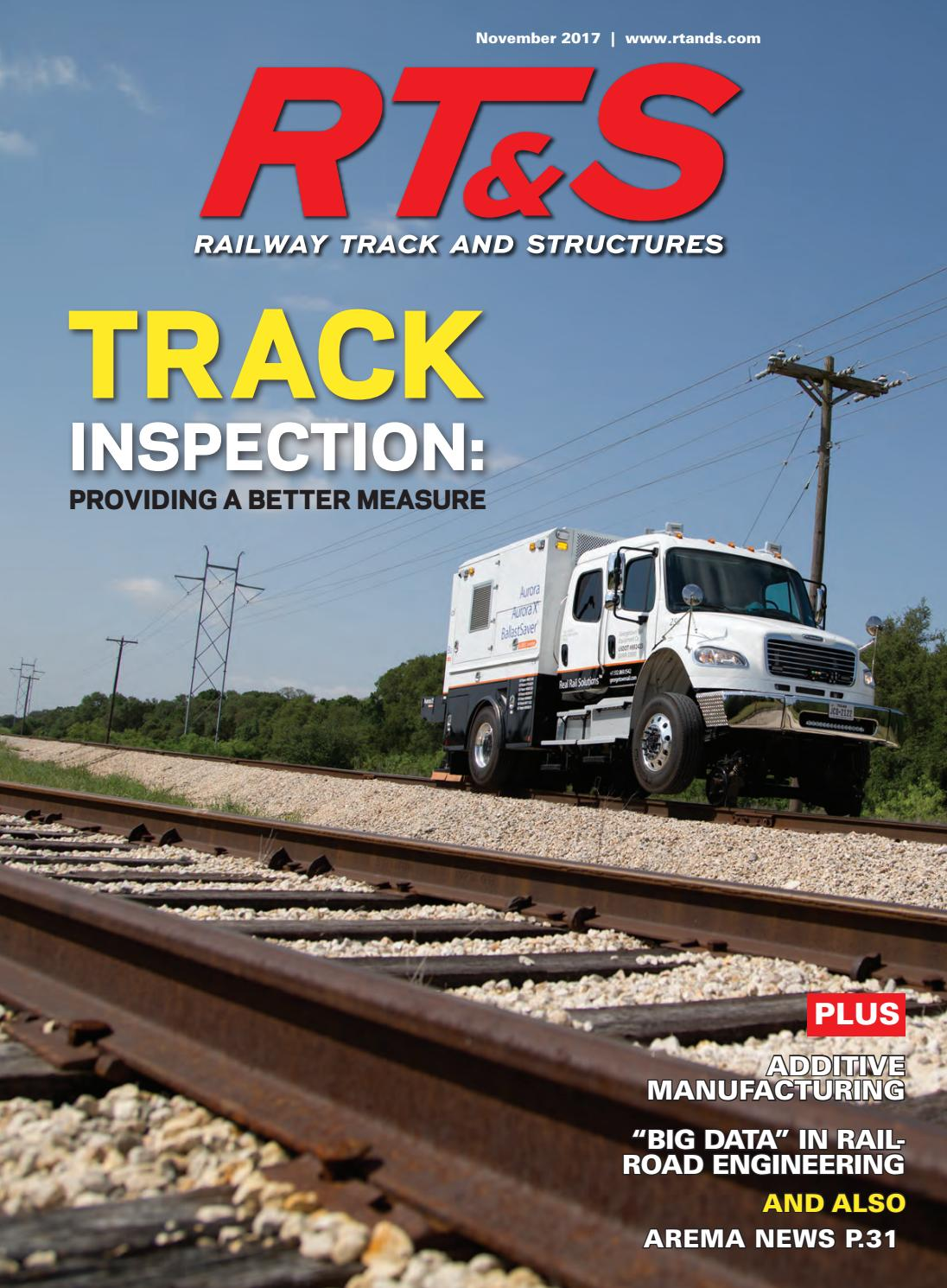 RT&S November2017 by Railway Track & Structures - issuu
