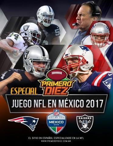 b246c4c9c224c Revista NFL Primero y Diez - Juego de NFL en México 2017 by Primero ...