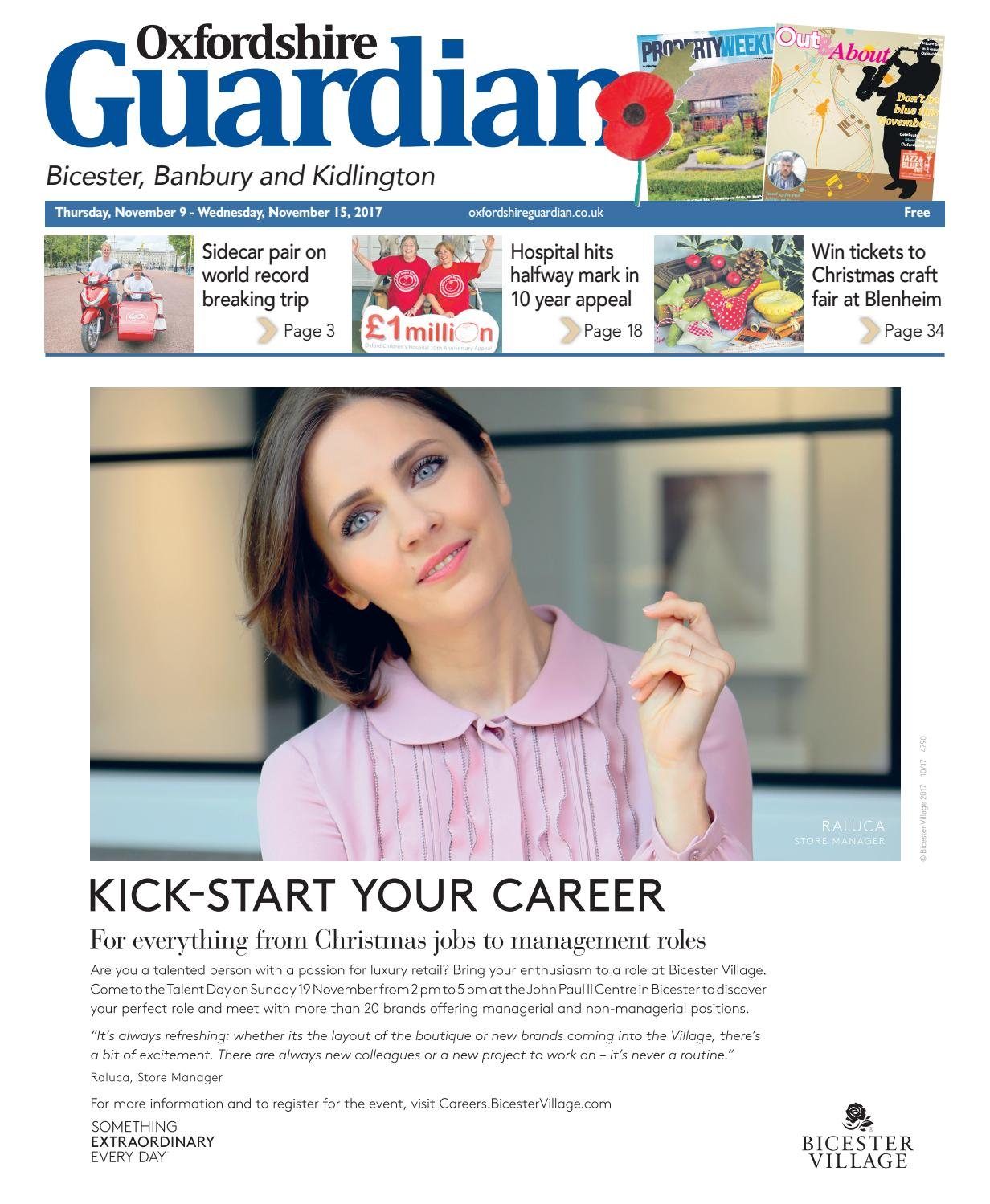 61c398fe 9%20november%202017%20oxfordshire%20guardian%20bicester by Taylor  Newspapers - issuu