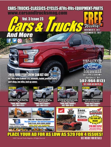 cars and trucks magazine vol 3 issue 23 by carsandtrucksmag issuu. Black Bedroom Furniture Sets. Home Design Ideas