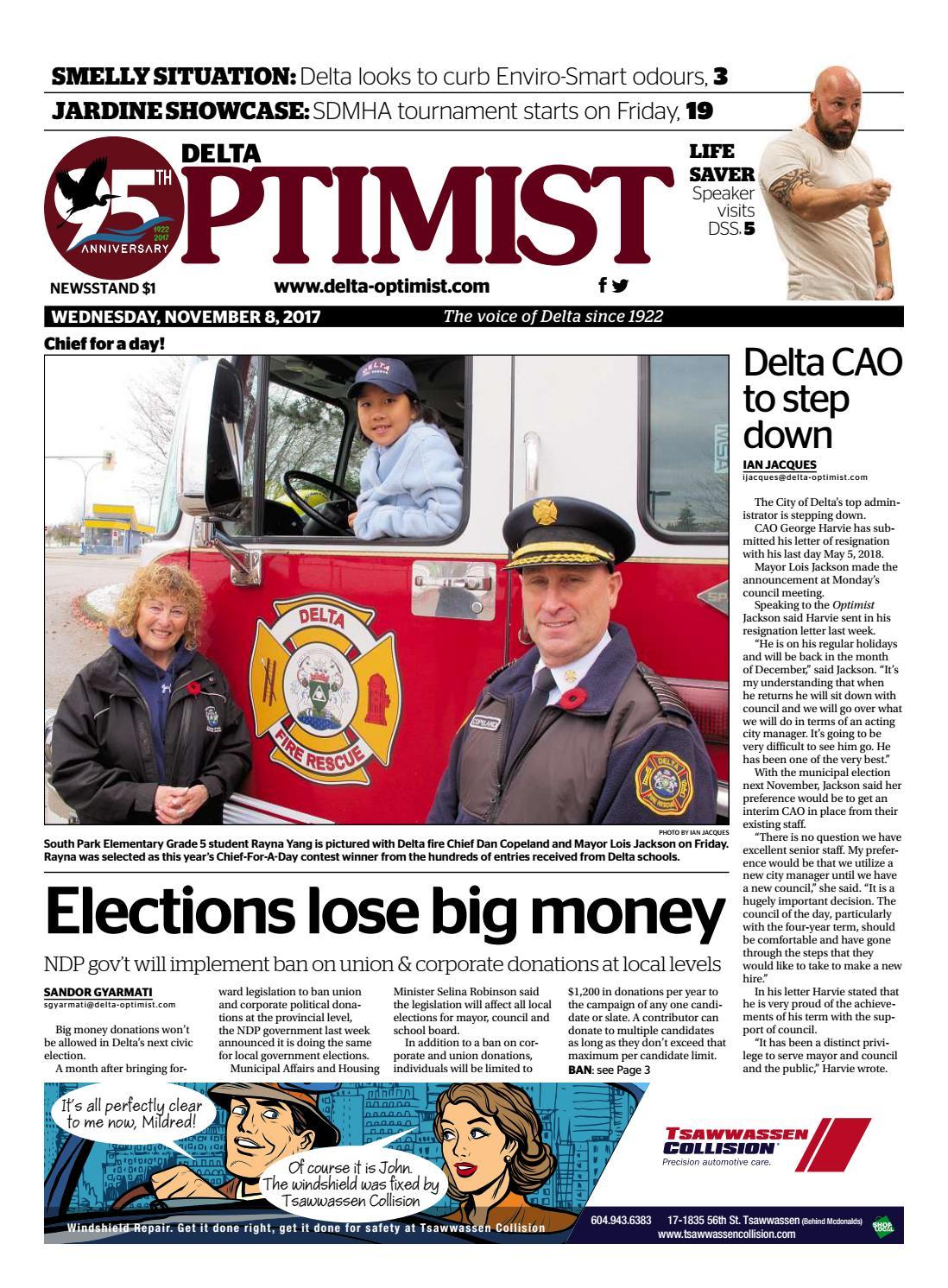 9ed97d2bcbf Delta Optimist November 8 2017 by Delta Optimist - issuu