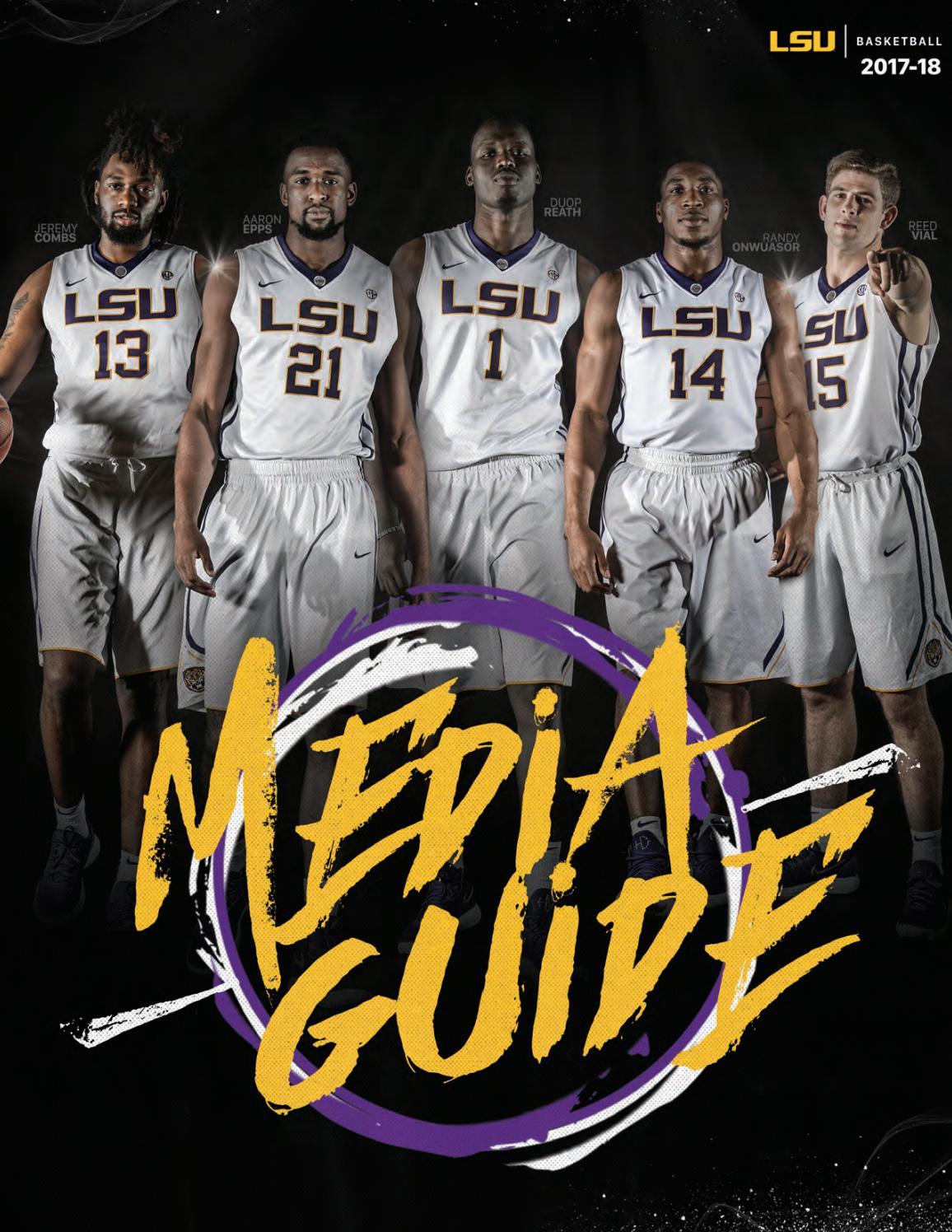 2017-18 LSU Men's Basketball Media Guide by LSU Athletics - issuu