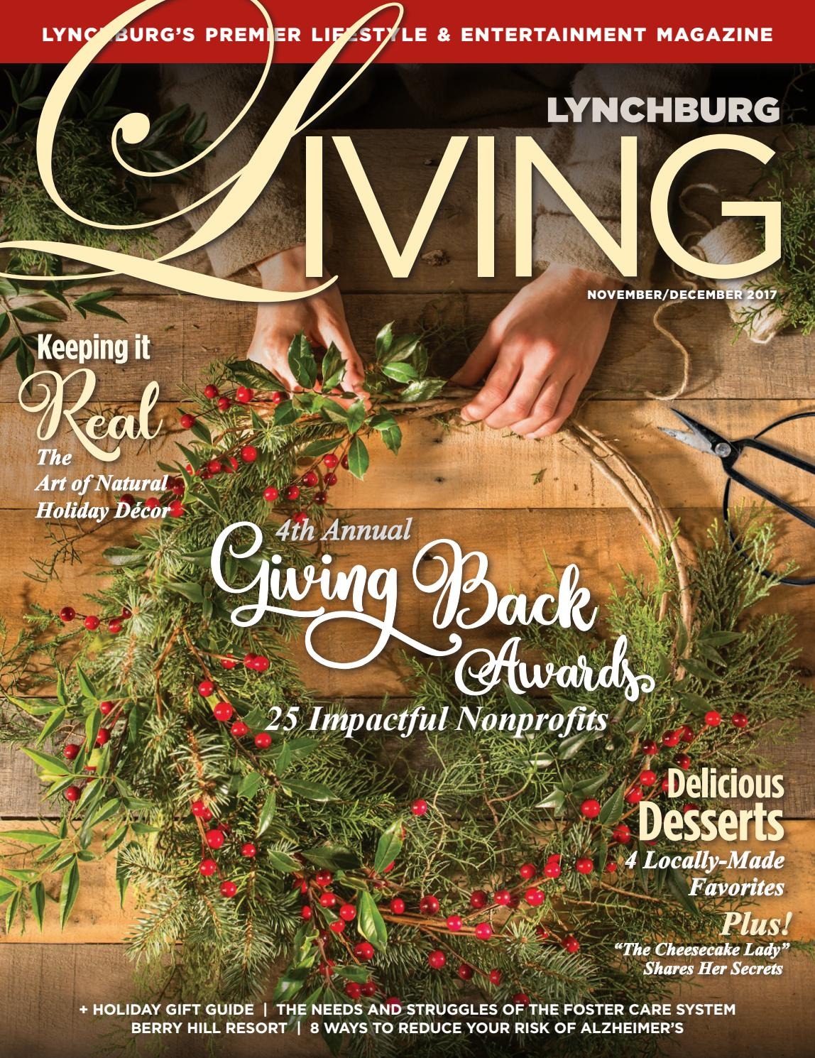 Lynchburg Living Nov/Dec 2017 by VistaGraphics - issuu