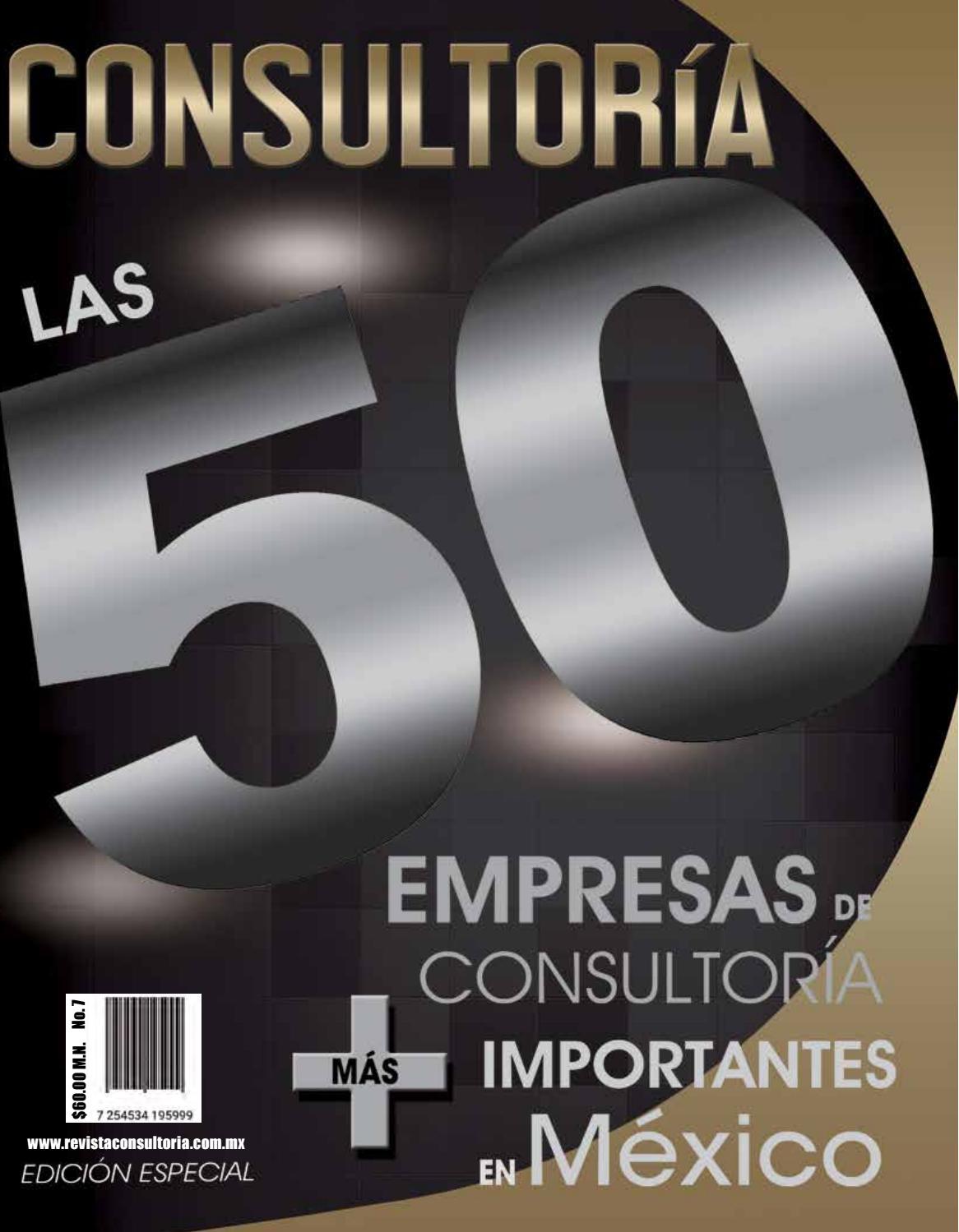 Las 50 Empresas de Consultoría más Importantes en México 2016 by ...