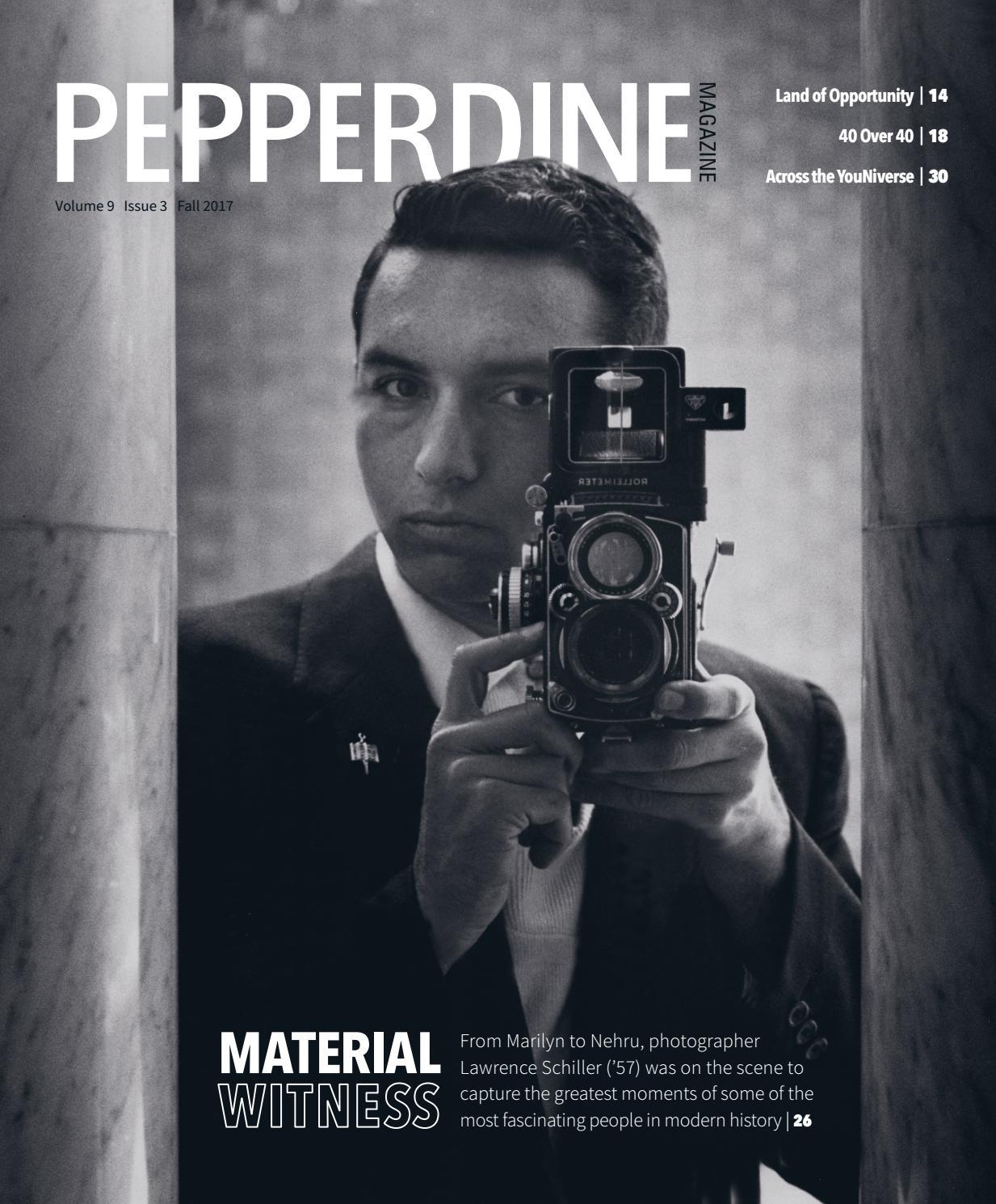 Pepperdine Magazine Vol  9, Iss  3 (Fall 2017) by Pepperdine
