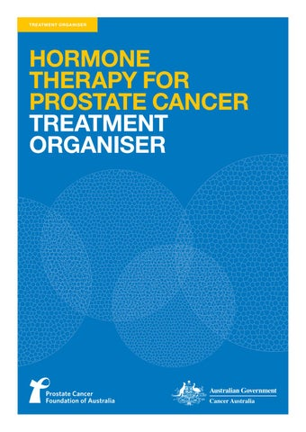 Hormone Therapy for Prostate Cancer Treatment Organiser by