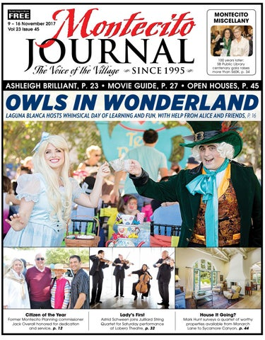 Owls in wonderland by montecito journal issuu page 1 fandeluxe