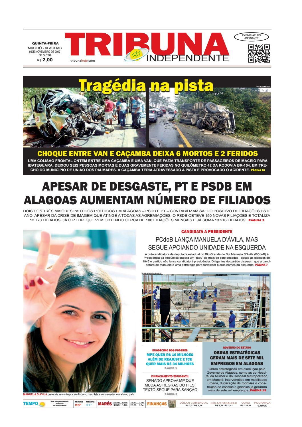 Edição número 3020 - 9 de novembro de 2017 by Tribuna Hoje - issuu a07fd1e386