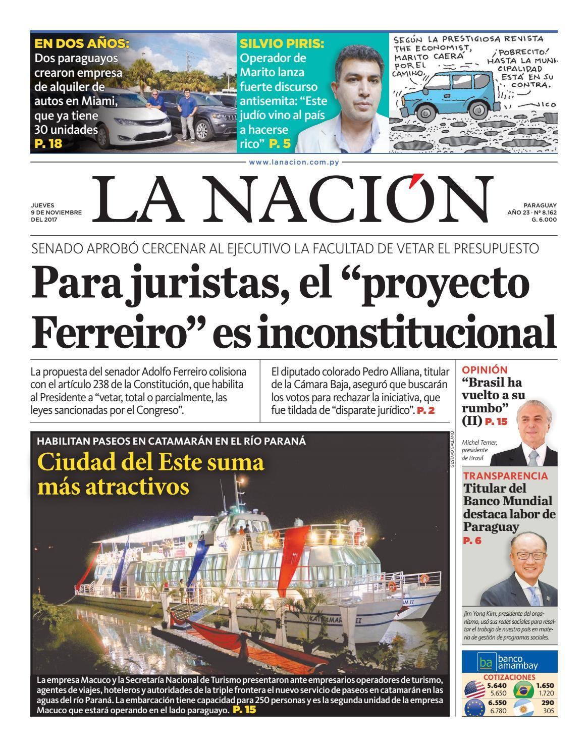 DIARIO LA NACIÓN - EDICIÓN 8.162 by La Nación - issuu 68439119c9c69