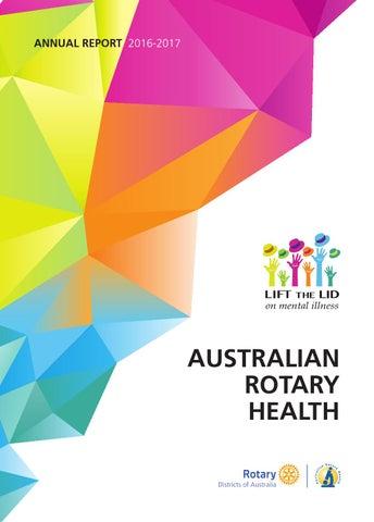 9555004f4966a Australian Rotary Health Annual Report 2016-2017 by Australian ...