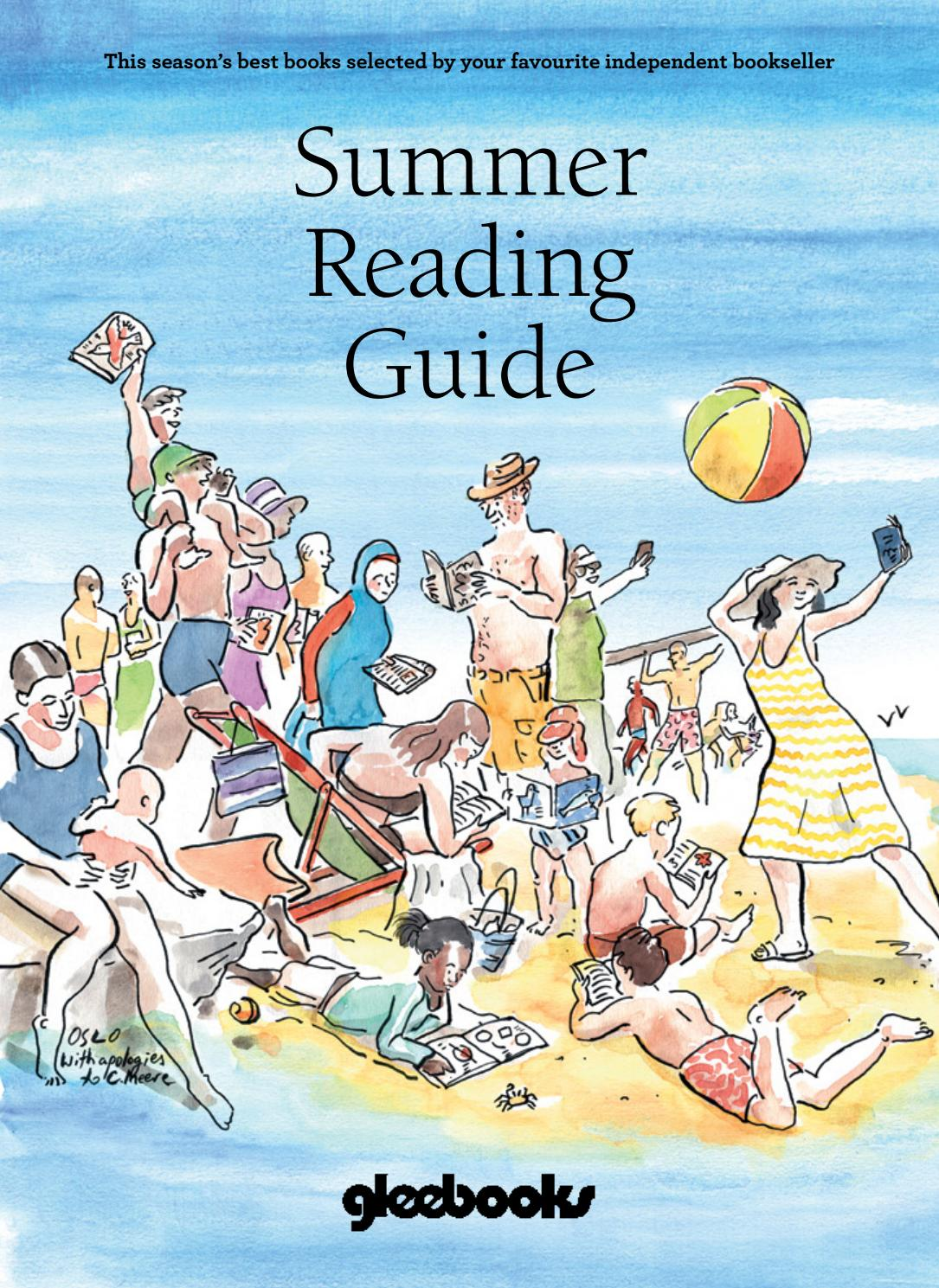 Gleebooks Summer Reading Guide 2017 by Gleebooks - issuu