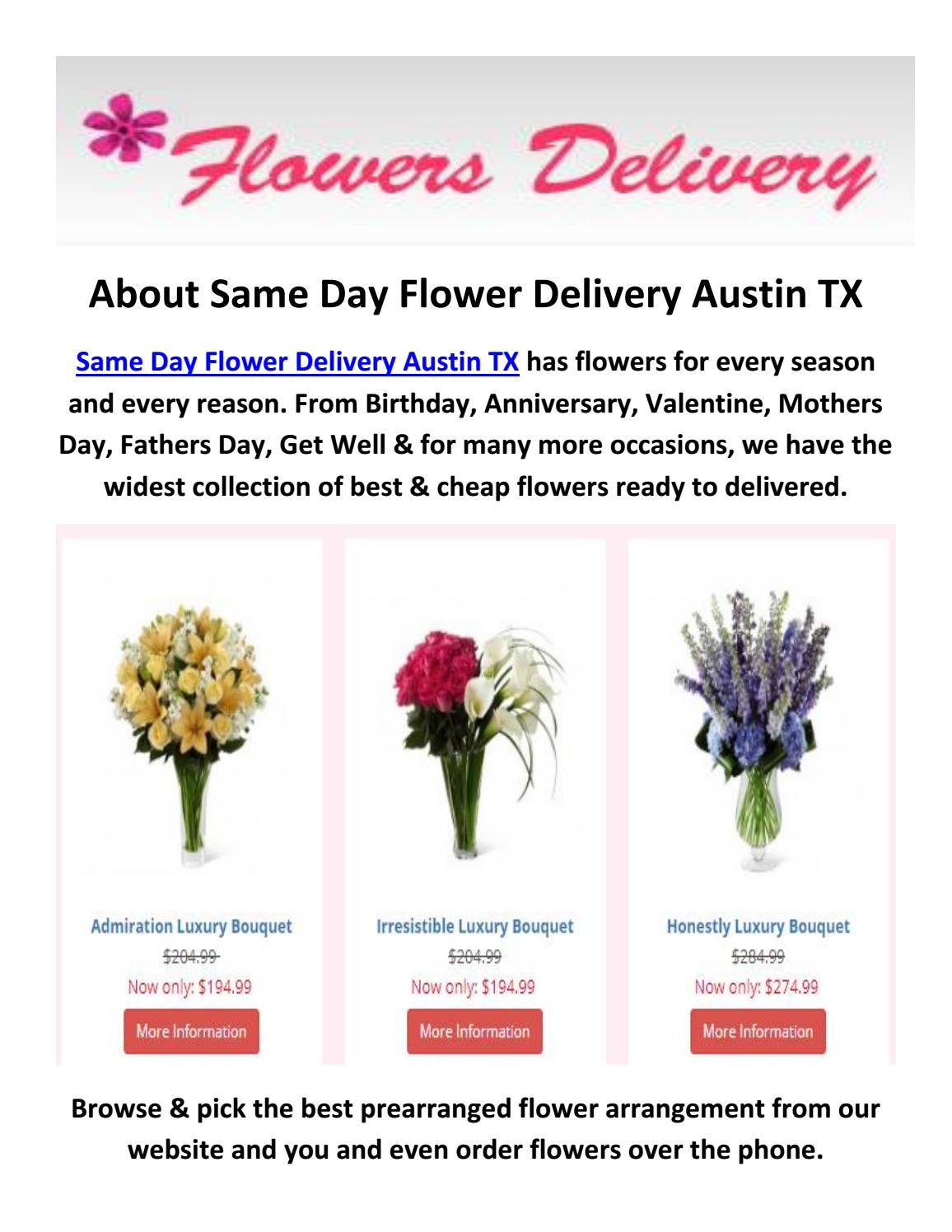 Call 512 596 3993 best cheap flower delivery austin tx by same call 512 596 3993 best cheap flower delivery austin tx by same day flower delivery austin tx issuu izmirmasajfo