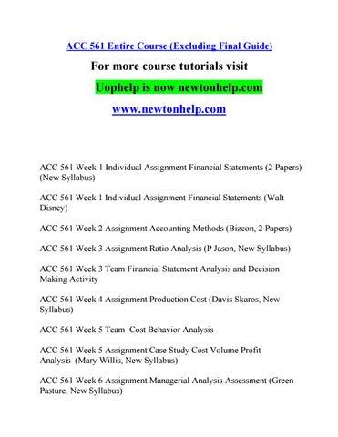 acc 561 course inspiring minds newtonhelp com by huntrobertson3 issuu rh issuu com
