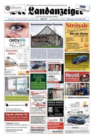 Der Landanzeiger 45/17 by ZT Medien AG - issuu