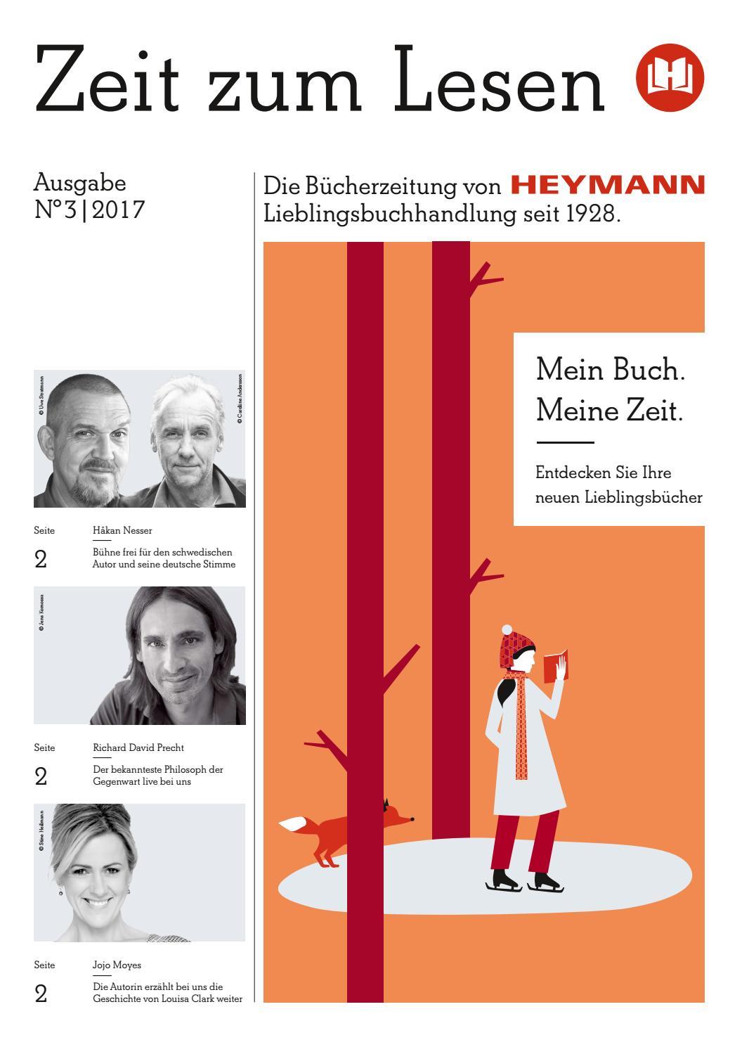 Buchhandlung Heymann - Zeit zum Lesen No. 3 - 2017 by Buchwerbung ...