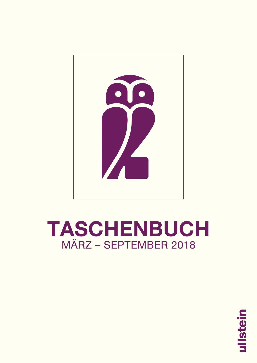 Ullstein Taschenbuch Frühjahr 2018 Vorschau by Ullstein Buchverlage ...