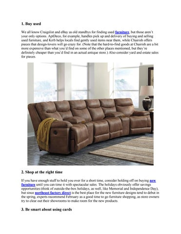 Lovely Buy Used We All Know Craigslist And EBay As Old Standbys For Finding Used  Furniture, But Those Arenu0027t Your Only Options. AptDeco, For Example,  Handles Pick ...