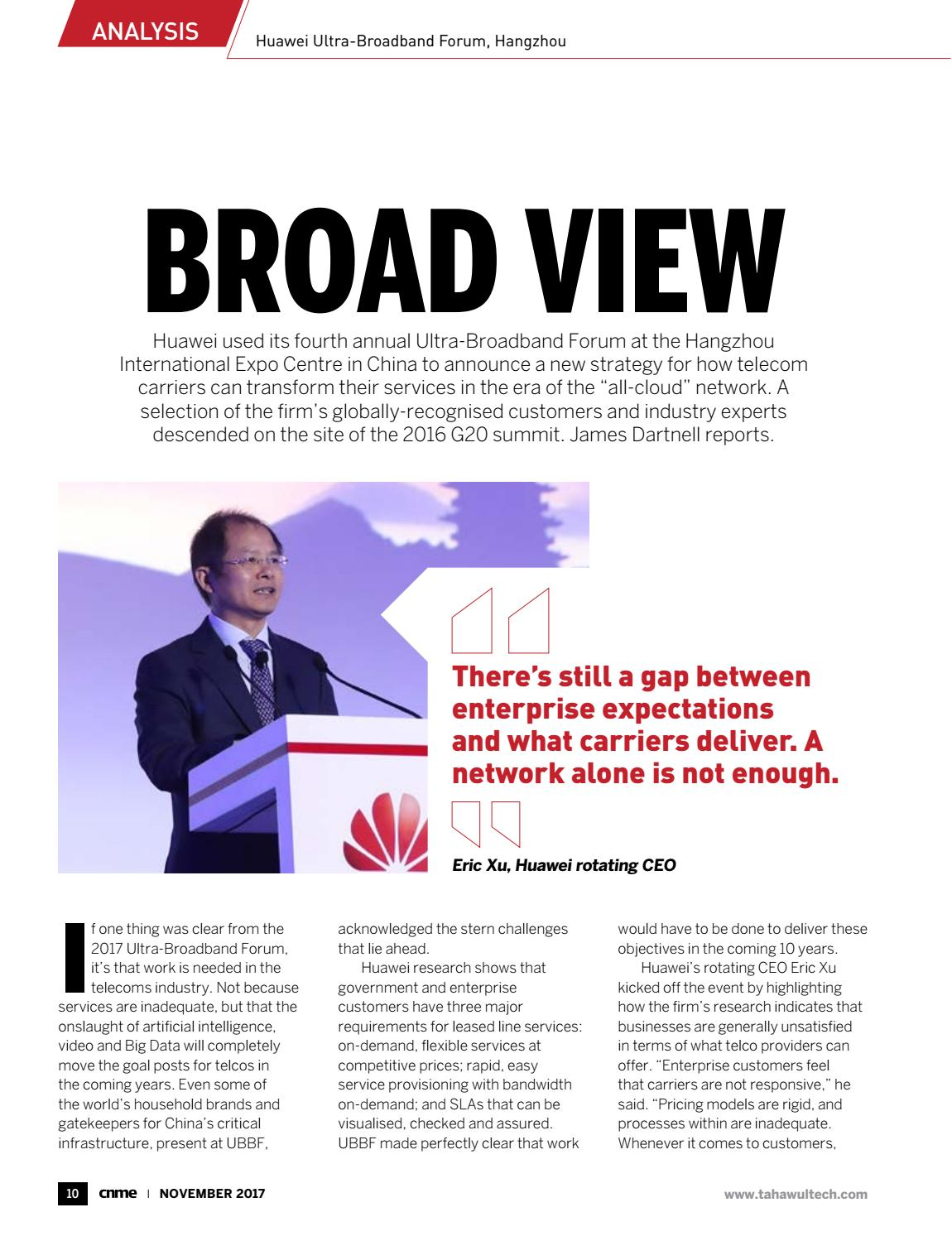 Computer News Middle East November 2017 by Computernews Middle East
