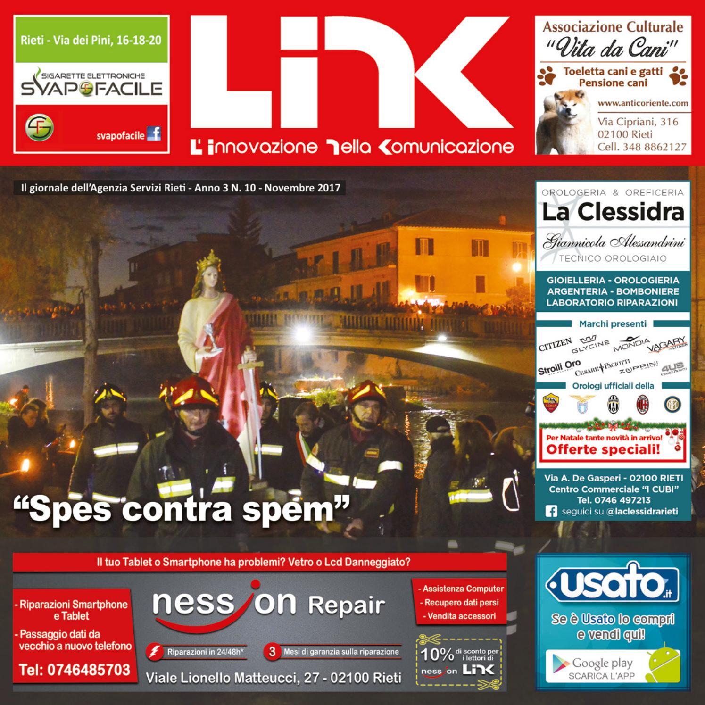 f9c95d672e8ad3 LINK NOVEMBRE 2017 - Anno 3 N.10 by Agenzia Servizi Rieti - issuu