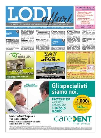 Lodi Affari 9 Novembre by Lodi Affari - issuu fcd6a8dc7f4d