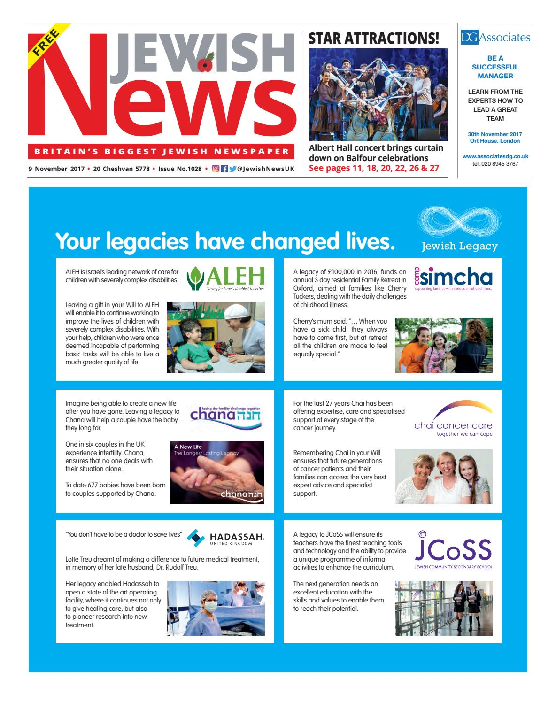 Jewish News issue 1028 by Jewish News - issuu e6d37bd6f196f