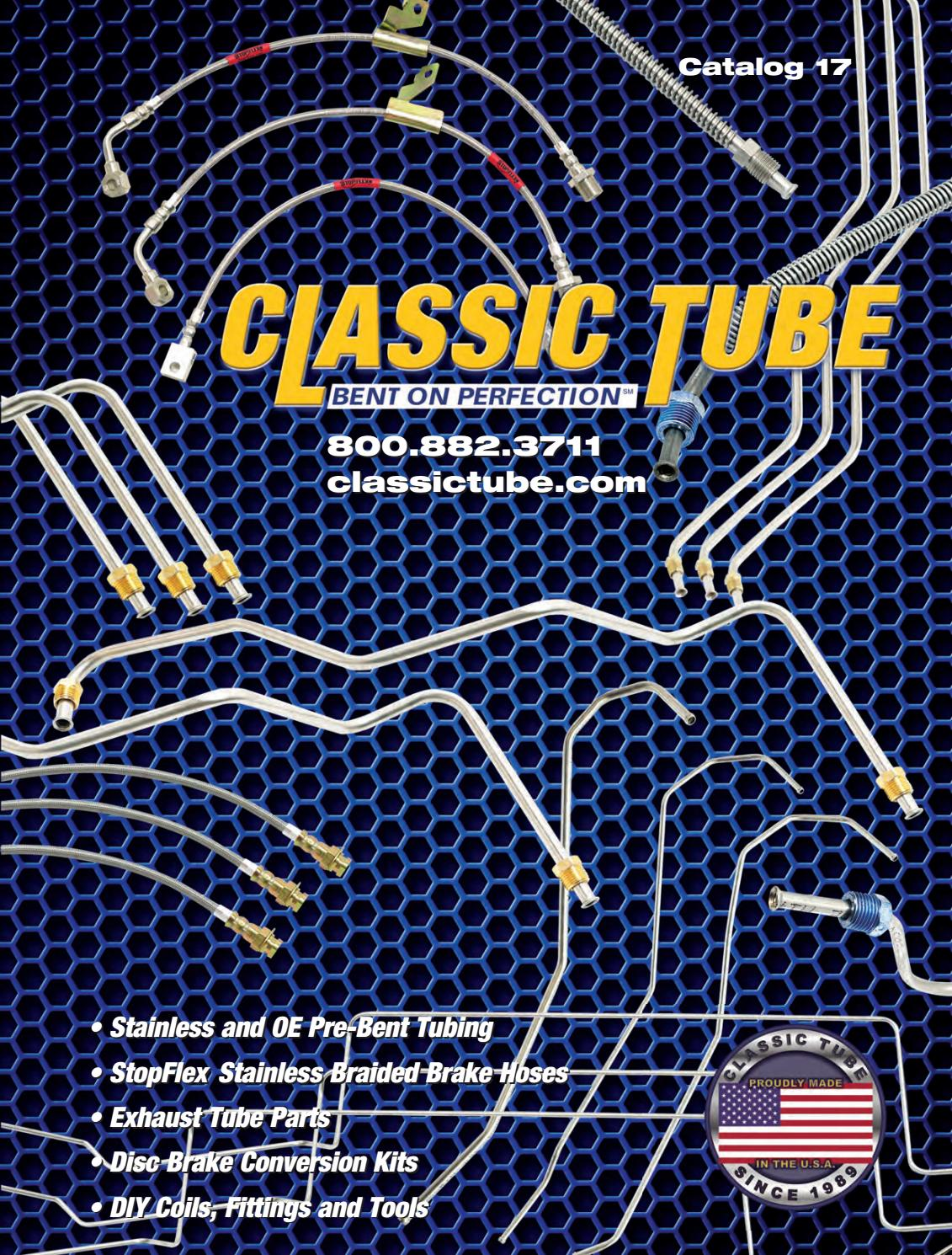 Classic tube catalog 17 by Classic Tube - issuu