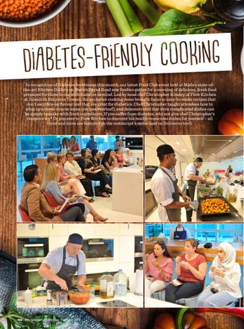 Bbc good food me 2017 november by bbc good food me issuu in recognition of diabetes awareness this month our latest food club event held at mieles state ofthe art kitchen gallery on sheikh zayed road saw foodies forumfinder Image collections