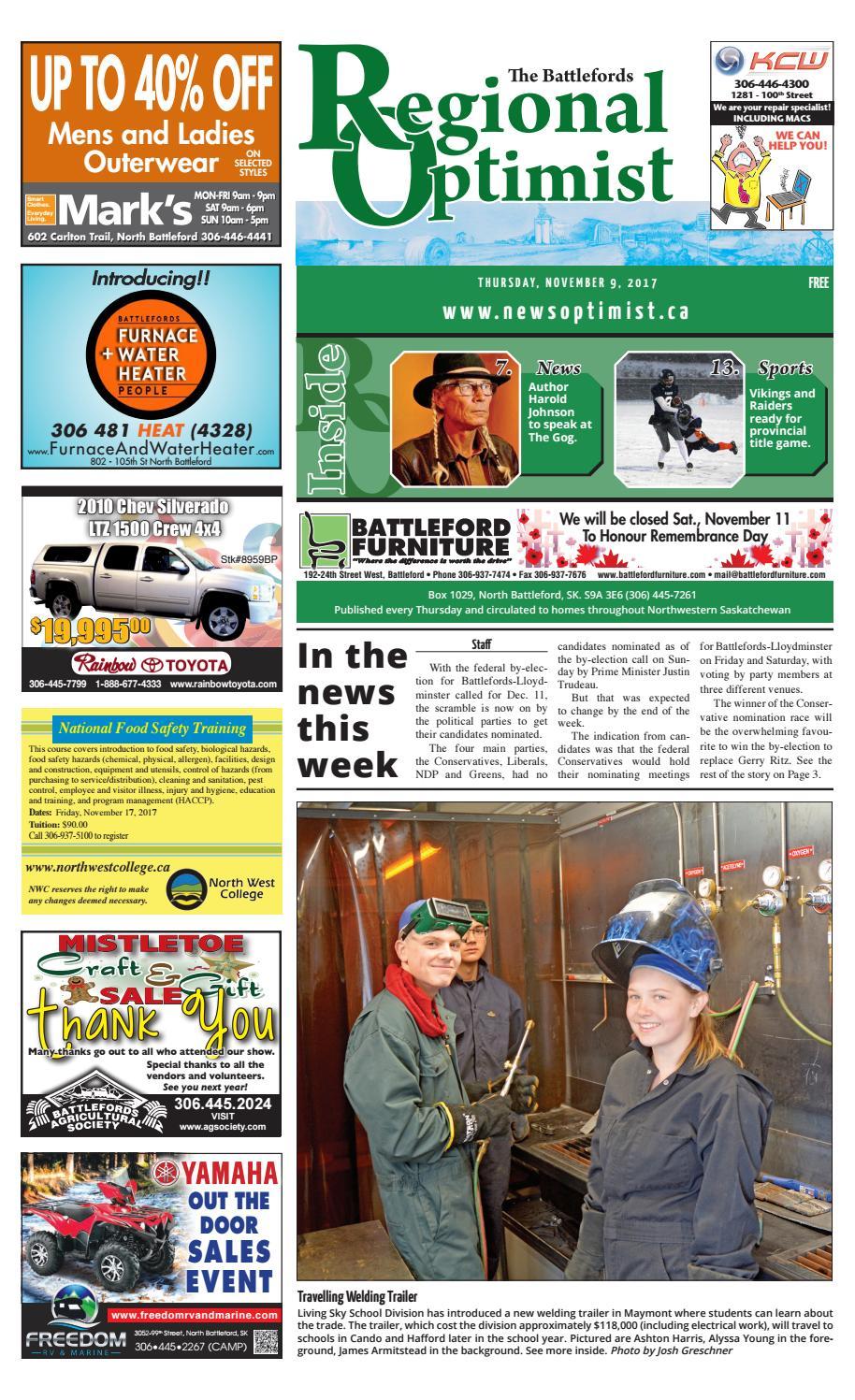 Regional Optimist November 9 by Battlefords News Optimist - issuu 9b7041a144a