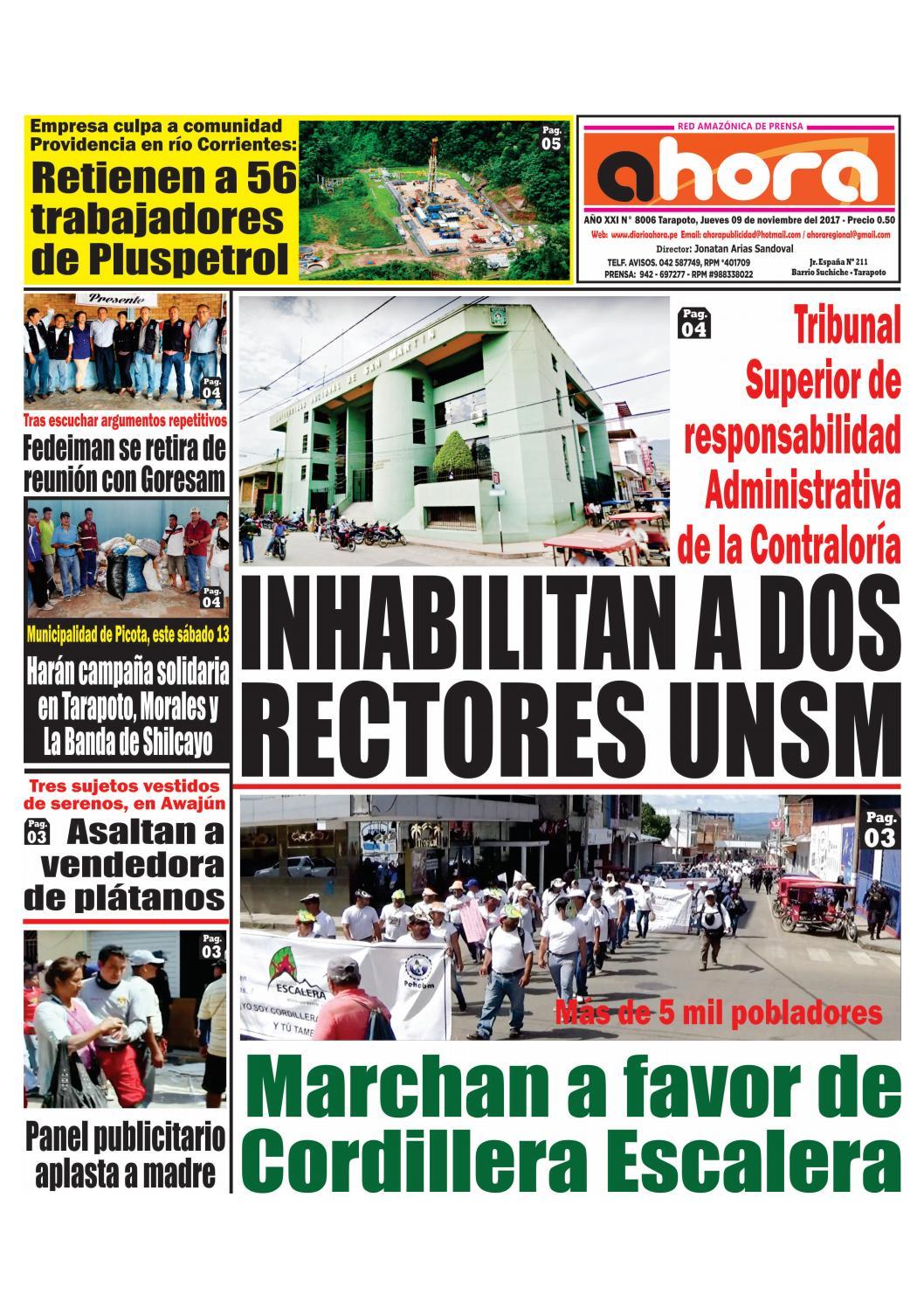 Tarapoto 09 de noviembre de 2017 by Jonatan Arias - issuu