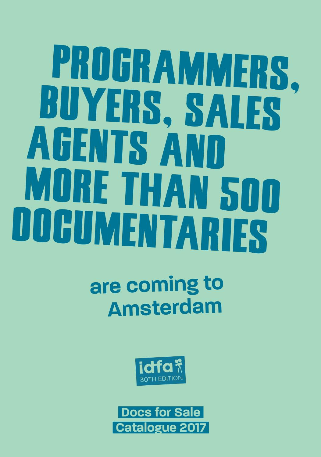 Docs for Sale 2017 Catalogue by IDFA International