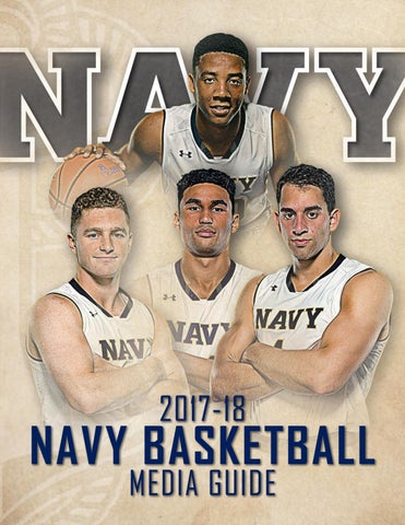 2017-18 Men s Basketball Guide by Naval Academy Athletic Association ... ef1ef3a69