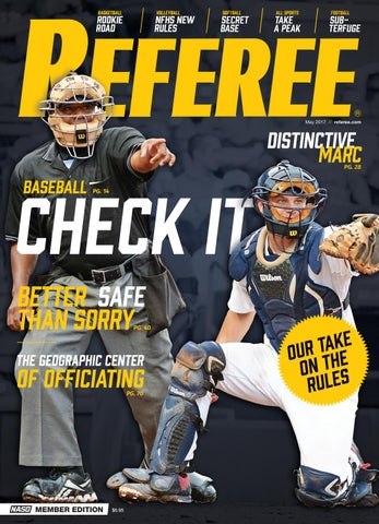 c951f831533 Referee Magazine - May 2017 by Referee Magazine - issuu