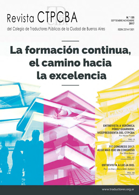 Revista CTPCBA N.°135 by CTPCBA - issuu