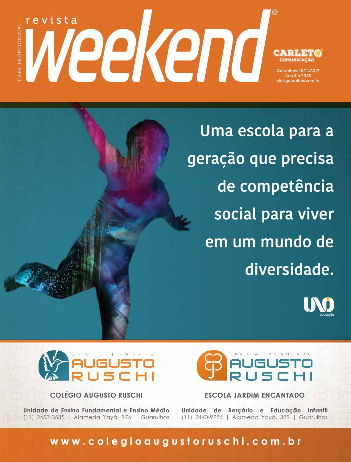 9853eb29140 Revista Weekend - Edição 385 by Carleto Editorial - issuu
