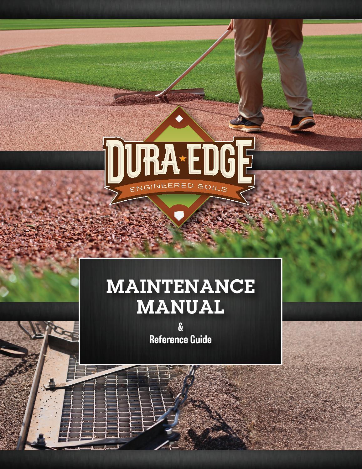 2017-2018 DuraEdge Maintenance Manual by DuraEdge - issuu