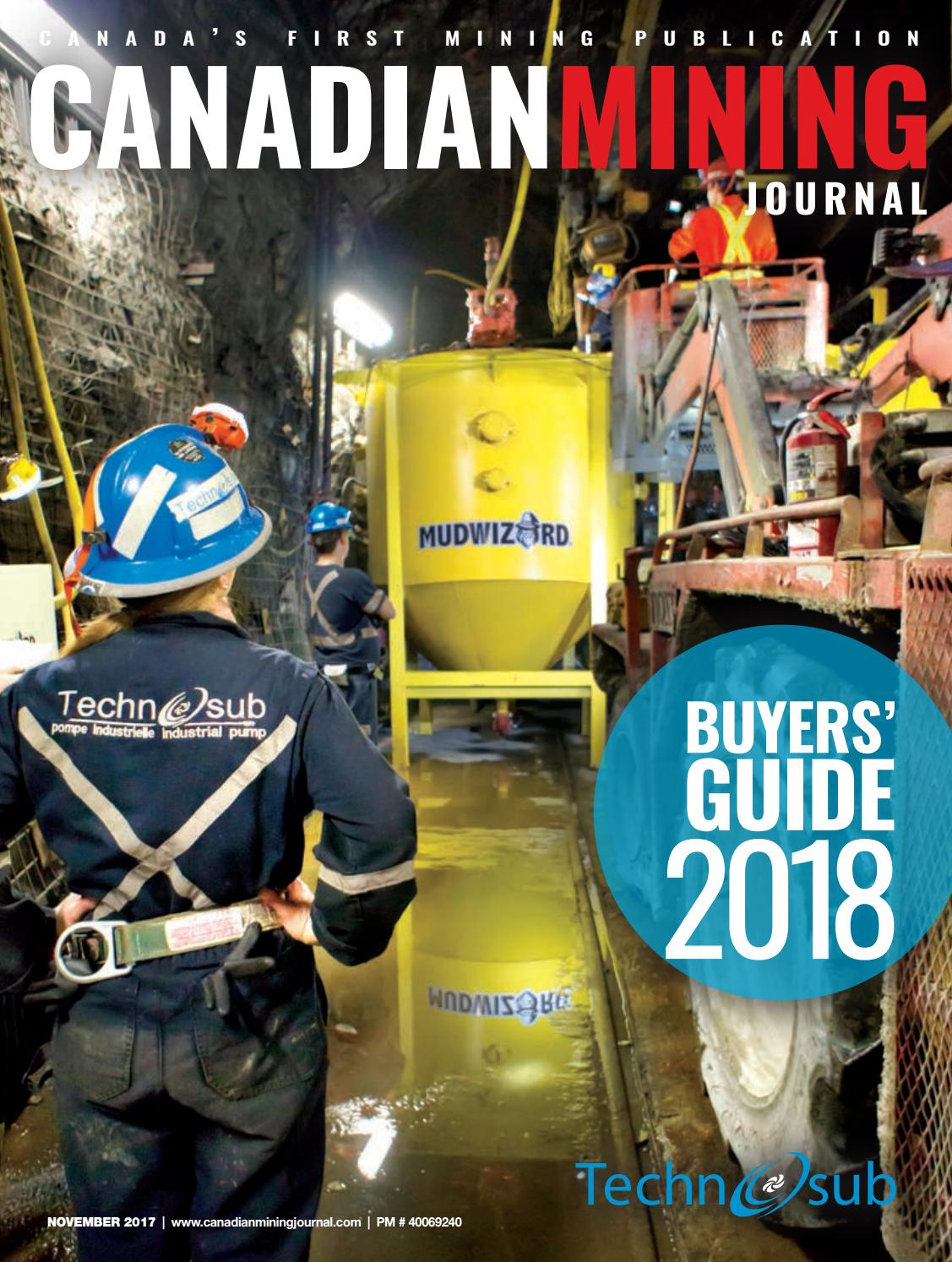 Canadian Mining Journal November 2017 By The Northern Miner Group Lithium Ion 8211 Polymer Usb Battery Charger Max1811 Issuu