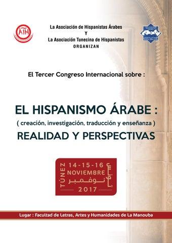 Programa Del Tercer Congreso Del Hispanismo árabe By Picto