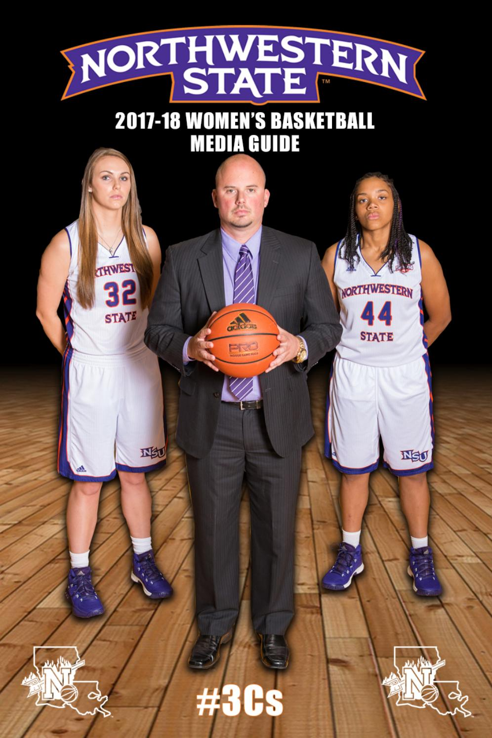 2017-18 Northwestern State Women's Basketball Media Guide by