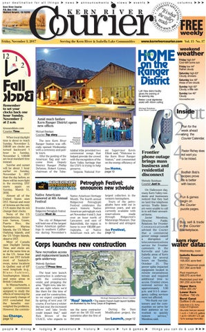 Kern River Courier November 3, 2017 by Kern River Courier - issuu