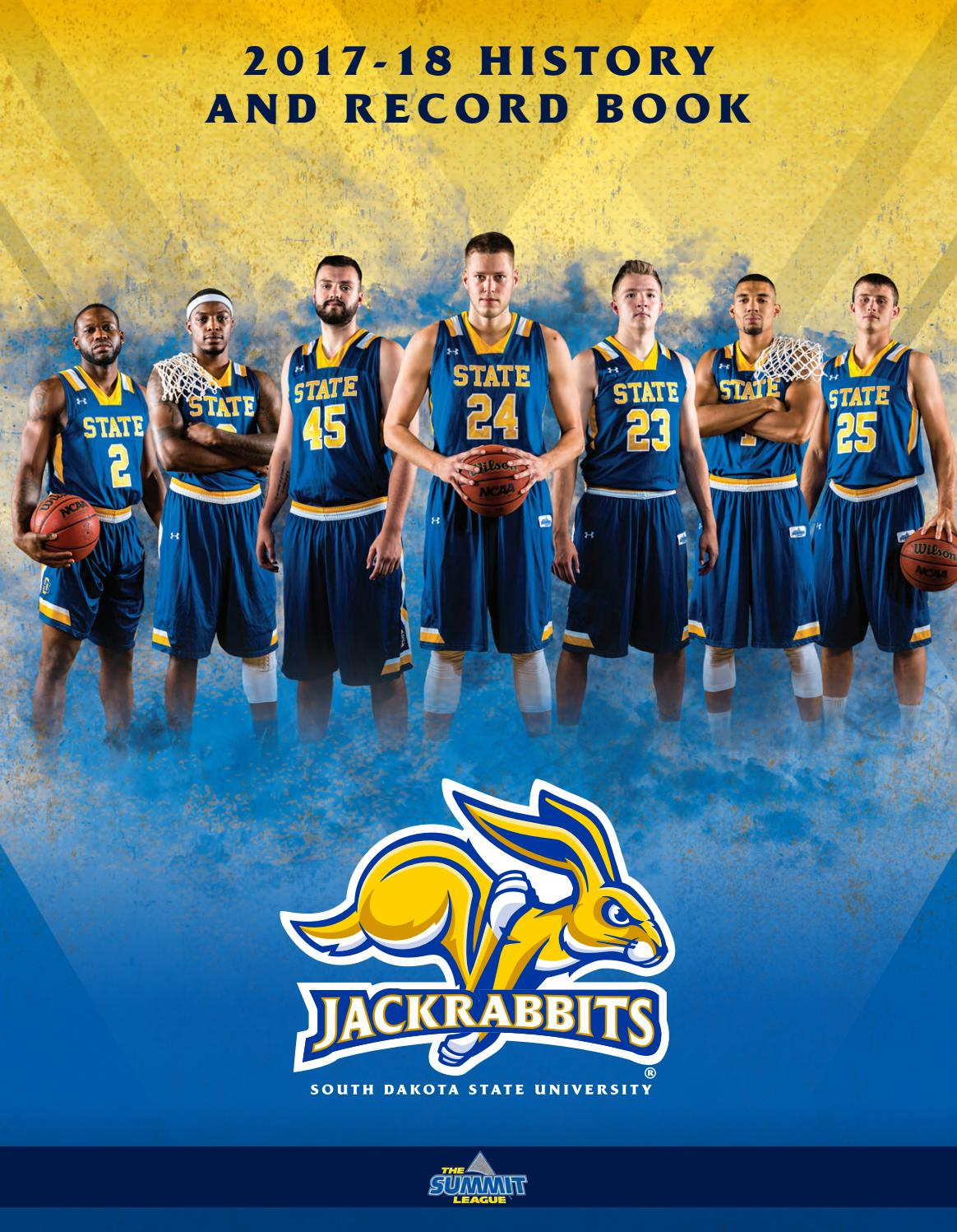 huge discount 3683b f9d98 2017-18 South Dakota State Men s Basketball Record Book by South Dakota  State University Athletics - issuu